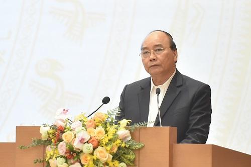 Thủ tướng Chính phủ Nguyễn Xuân Phúc phát biểu kết luận Hội nghị