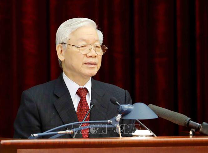 Tổng Bí thư, Chủ tịch nước Nguyễn Phú Trọng. Ảnh: Trí Dũng/TTXVN