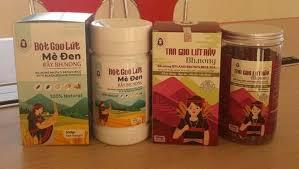 Các dòng sản phẩm của Minh Nga với thương hiệu Gạo lứt rẫy Bh.nong