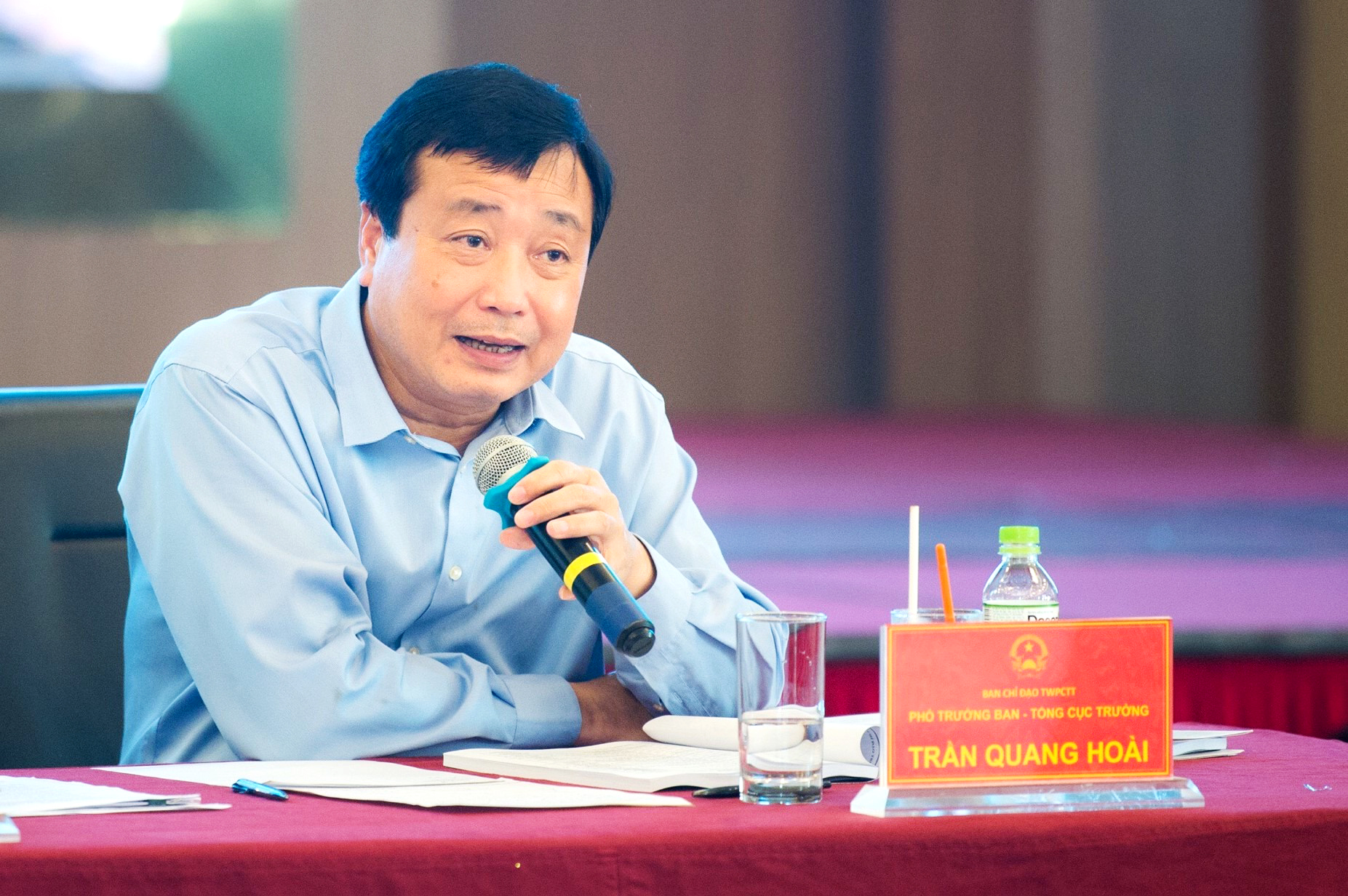 Ông Trần Quang Hoài, Phó trưởng Ban Chỉ đạo Trung ương về PCTT - Tổng Cục trưởng Tổng cục PCTT