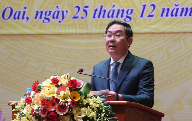 Phó Chủ tịch UBND thành phố Hà Nội Lê Hồng Sơn kết luận hội nghị
