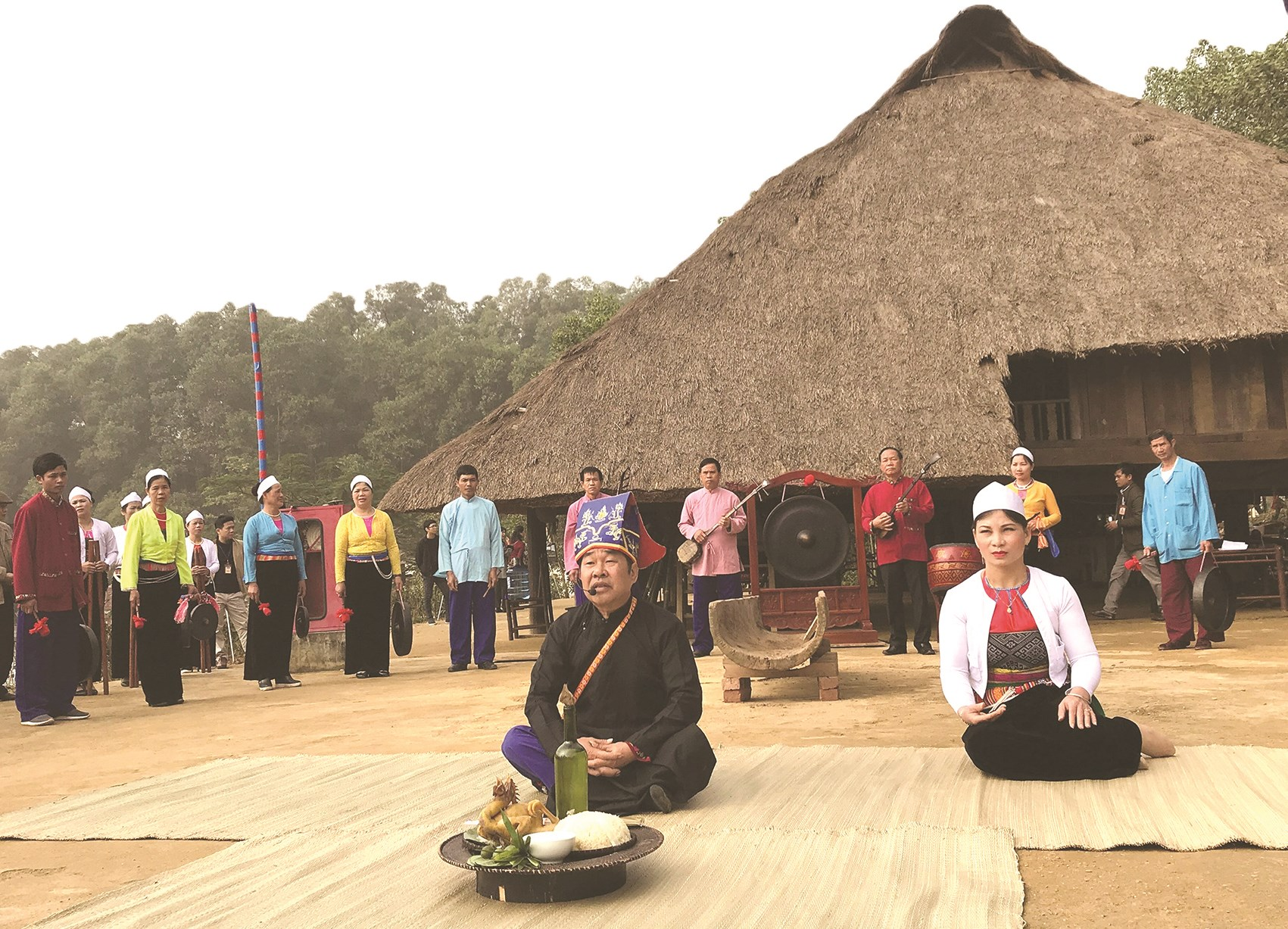 Người Mường thường sử dụng mo trong các nghi lễ