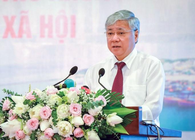Bộ trưởng, Chủ nhiệm Ủy ban Dân tộc, Phó Trưởng Ban Thường trực Chỉ đạo Đại hội Đỗ Văn Chiến.