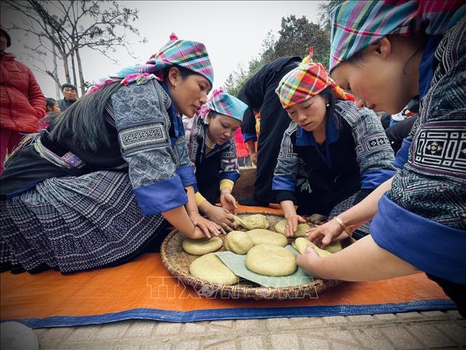 Sôi nổi Lễ hội giã bánh dày ở vùng cao Mù Cang Chải 7