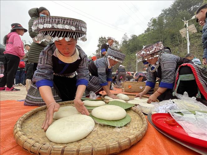 Sôi nổi Lễ hội giã bánh dày ở vùng cao Mù Cang Chải 8