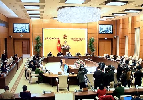 Phiên họp thứ 52 của Ủy ban Thường vụ Quốc hội bế mạc sau 1,5 ngày làm việc. Ảnh: VGP/Nguyễn Hoàng