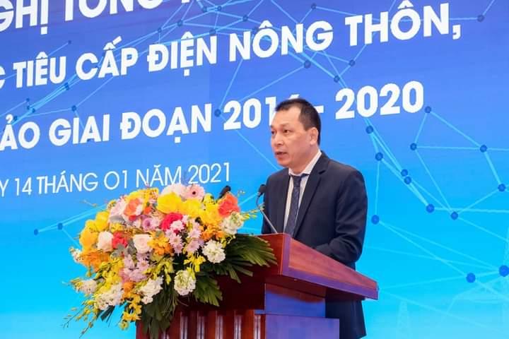 Ông Đặng Hoàng An, Thứ trưởng Bộ công thương phát biểu tại Hội nghị