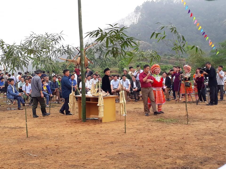 Đời sống văn hóa của đồng bào Mông thôn Vĩnh Sơn được quan tâm bảo tồn, phát huy