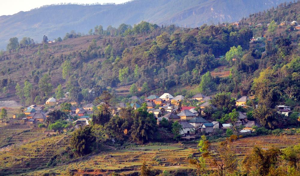 Một điểm du lịch ở xã Y Tý, huyện Bát Xát, Lào Cai. ảnh tư liệu.
