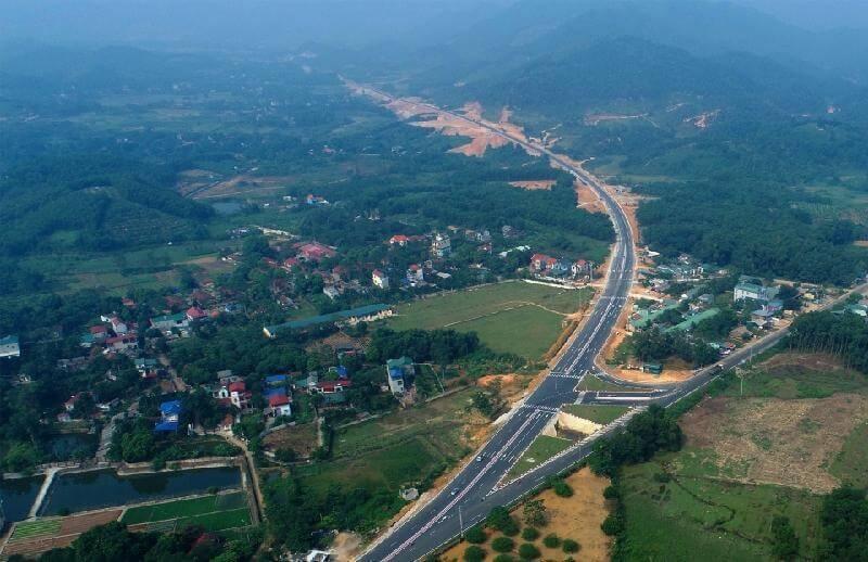 Đường cao tốc Láng- Hòa Lạc- Hòa Bình rút ngắn khoảng cách giữa thủ đô và Hòa Bình