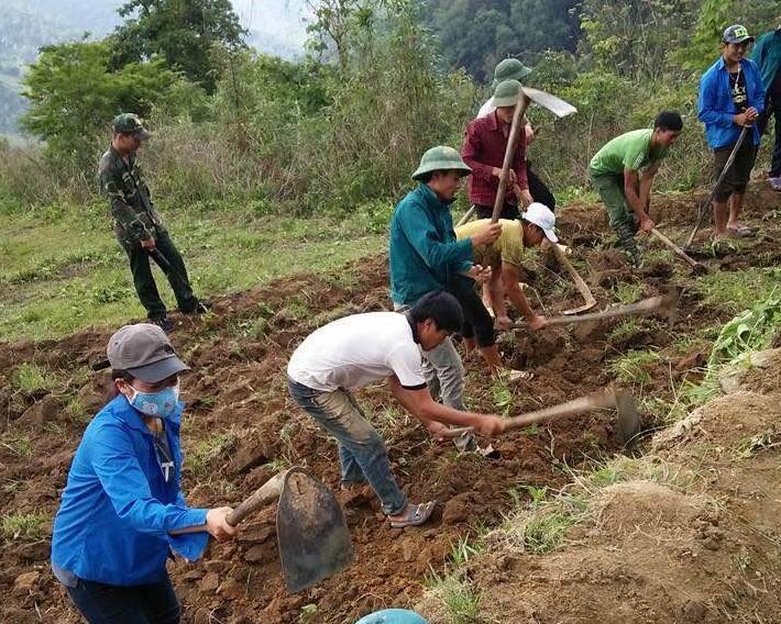 Người dân Mường Tè (Lai Châu) tích cực khai hoang, chuyển đổi cơ cấu cây trồng