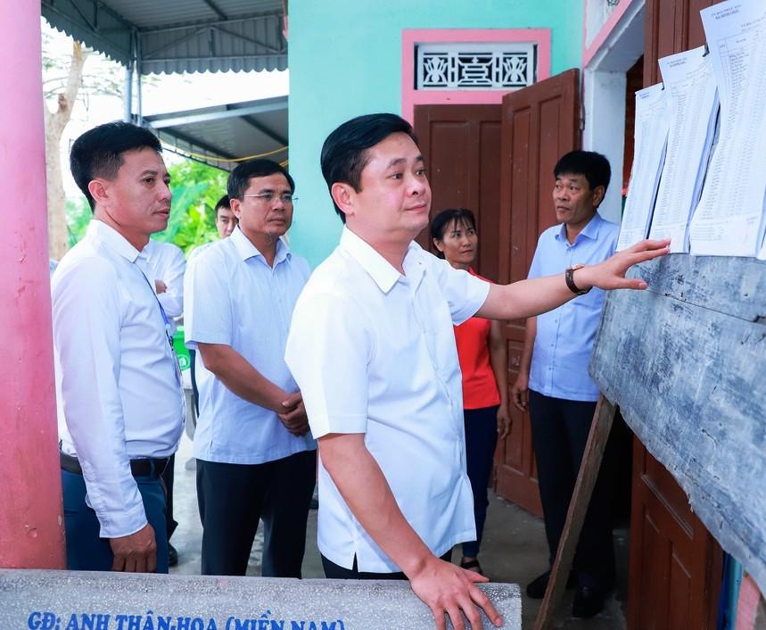 Nghệ An thành lập nhiều đoàn kiểm tra công tác chuẩn bị bầu cử ở cơ sở