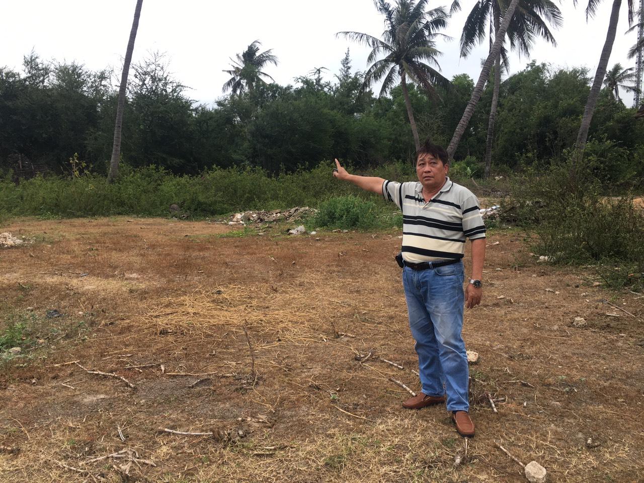 Ông Trần Quang Huỳnh là thế hệ thứ 2 (con ruột ông Trần Quang Huấn đã mất) tiếp tục gửi đơn thư khiếu kiện chính quyền đòi 2.675m2 đất hương hỏa cho tới nay.
