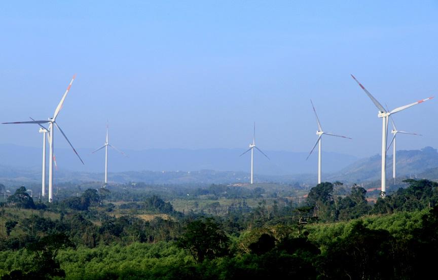 Năng lượng điện gió đang được phát triển mạnh ở Hướng Hóa