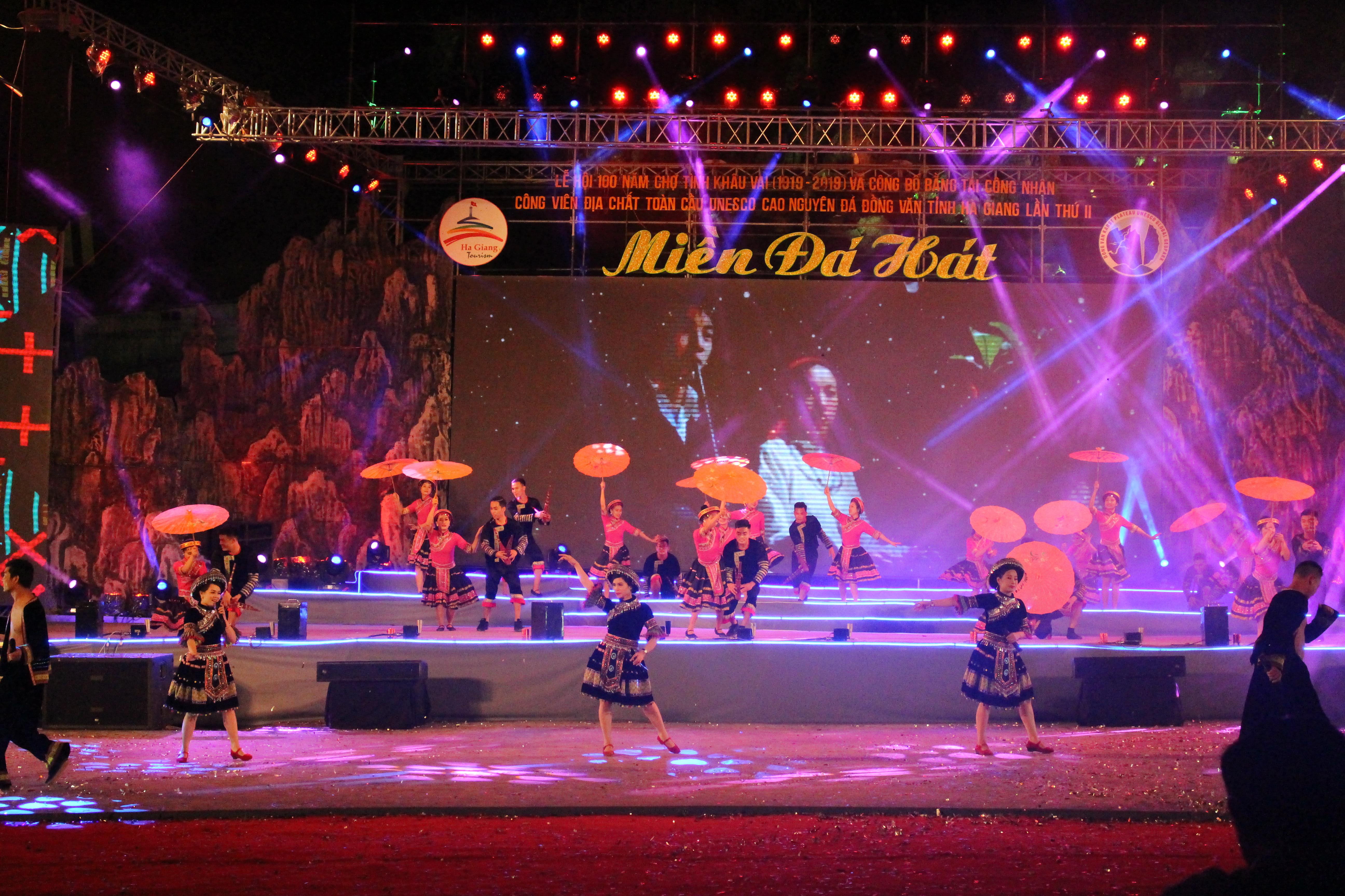 Lễ hội 100 năm Chợ tình Khâu Vai (1919- 2019) và công bố Bằng tái công nhận Công viên địa chất toàn cầu UNESCO Cao nguyên đá Đồng Văn tỉnh Hà Giang lần thứ II