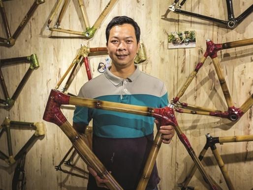 Cây tre Việt Nam được nâng tầm giá trị bằng những sản phẩm sáng tạo, độc đáo