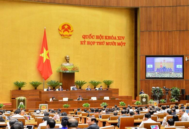 Quốc hội họp phiên bế mạc chiều ngày 8/4/2021