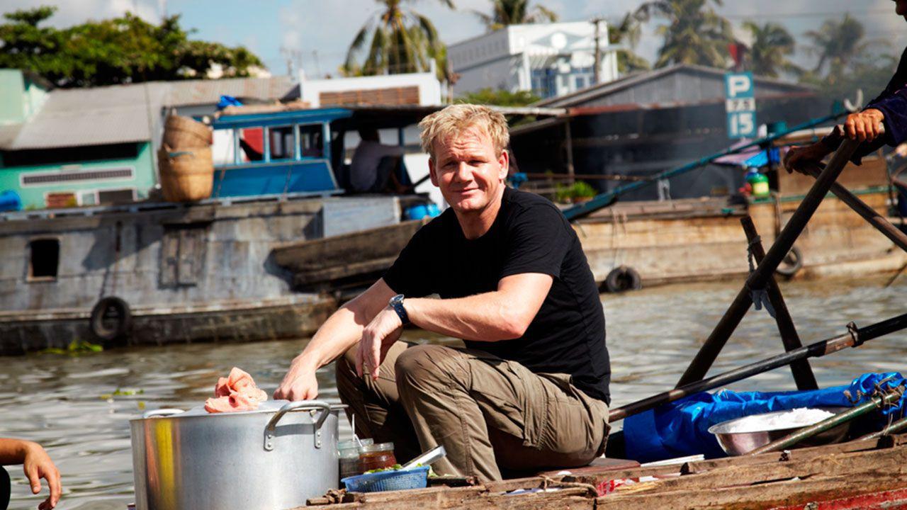 Gordon Ramsay trong chuyến khám phá ẩm thực tại Việt Nam