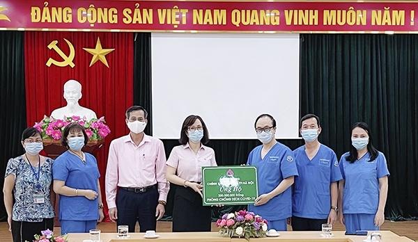 NHCSXH hỗ trợ Trung tâm cấp cứu 115 Hà Nội