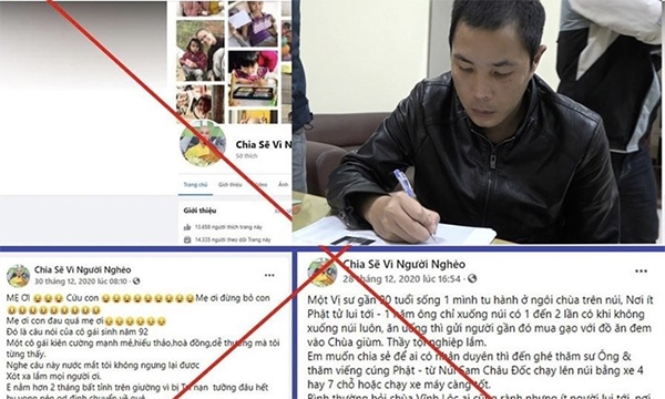 Người dân cần cảnh giác với những bài đăng trên mạng xã hội kêu gọi từ thiện