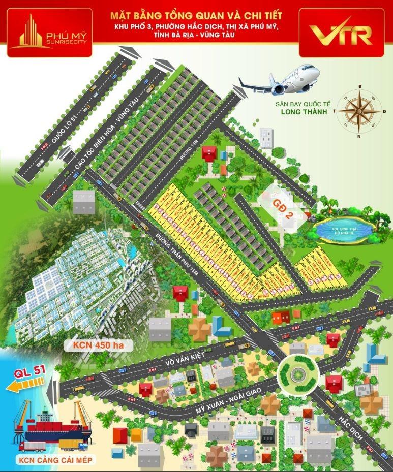 """Một khu đất cá nhân, tự vẽ dự án phân lô, bán nền """"ăn theo"""" dự án Sân bay Long Thành, Cao tốc Biên Hòa – Vũng Tàu"""