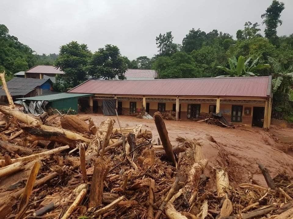 Trận lũ quét ngày 17/8/2020, tại bản Nậm Nhừ 1, xã Nậm Nhừ, huyện Nậm Pồ gây thiệt hại nặng về tài sản.