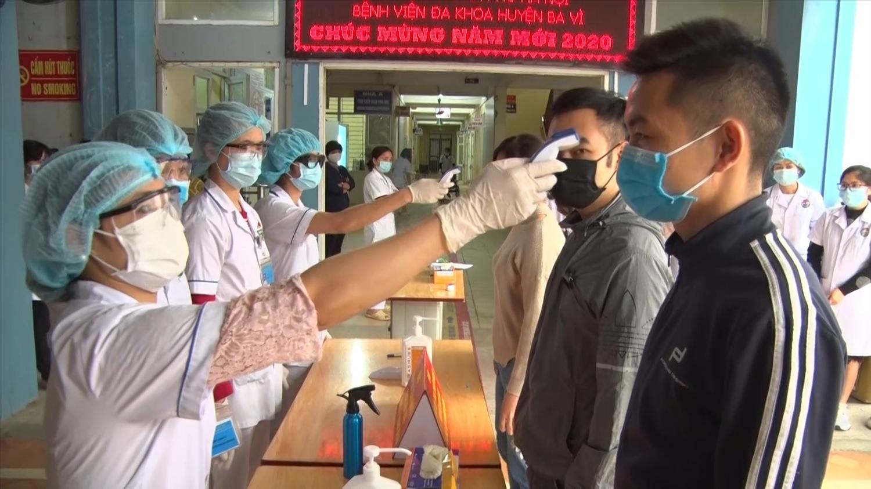 Huyện Ba Vì chủ động triển khai các biện pháp phòng, chống dịch bệnh Covid-19