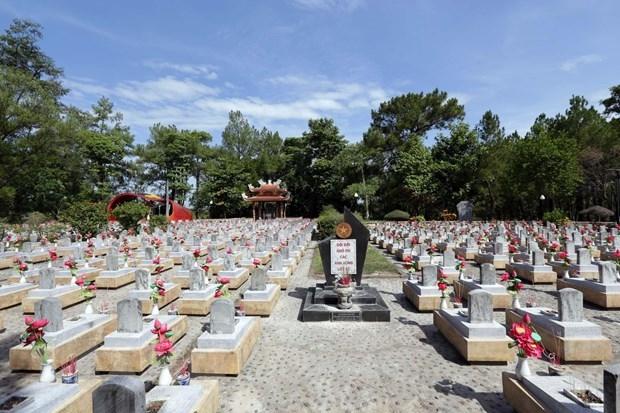 Nghĩa trang Liệt sĩ Quốc gia Trường Sơn là nơi yên nghỉ của hàng ngàn Anh hùng liệt sĩ