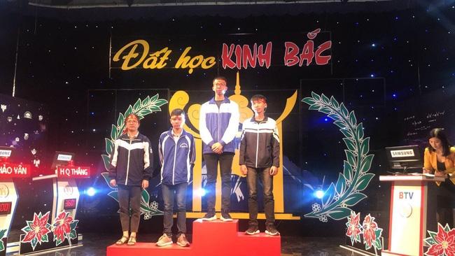 Những học sinh xuất sắc của Bắc Ninh tham gia cuộc thi đường lên đỉnh olympia.