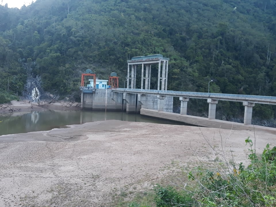 Nhà máy thủy điện Đa Krông 1 không thể hoạt động đủ công suất do thiếu nước