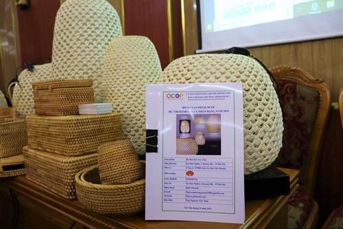 Sản phẩm truyền thống của làng nghề Chương Mỹ được công nhận sản phẩm OCOP 4 sao