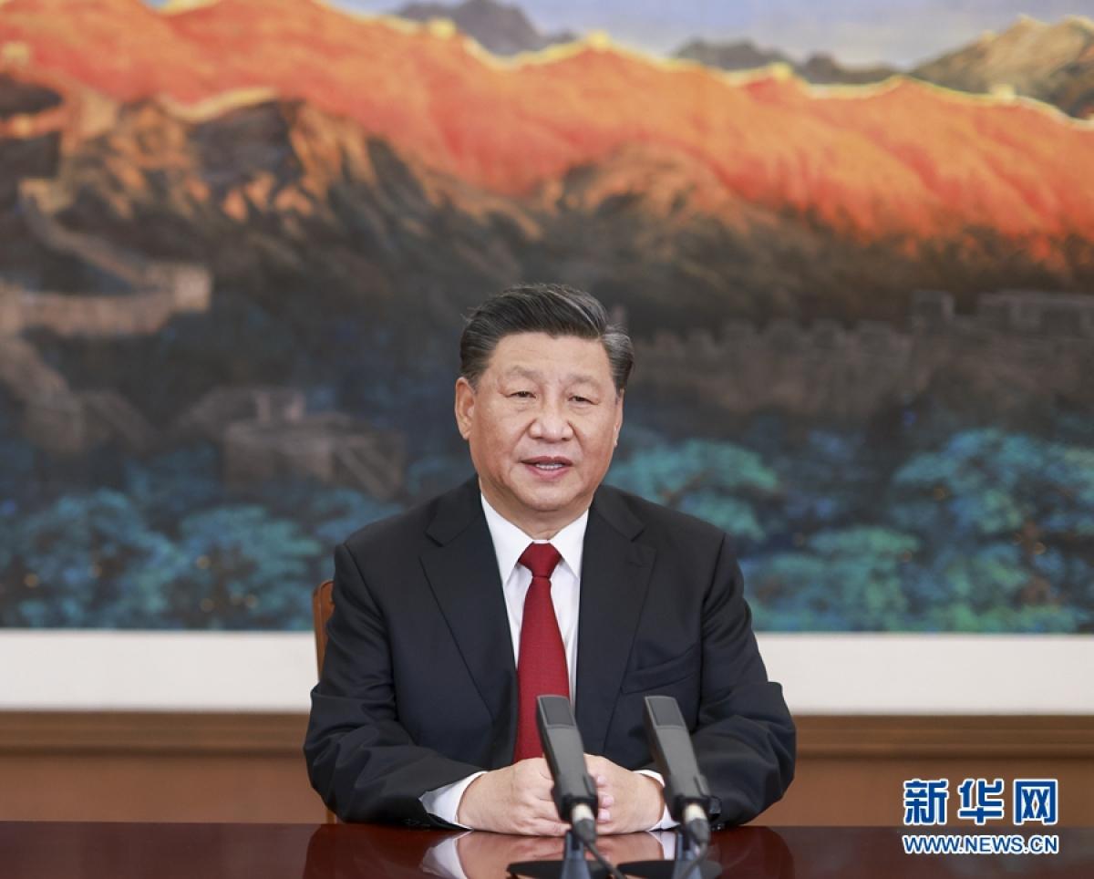 Chủ tịch Trung Quốc Tập Cận Bình (Ảnh: Tân Hoa Xã)