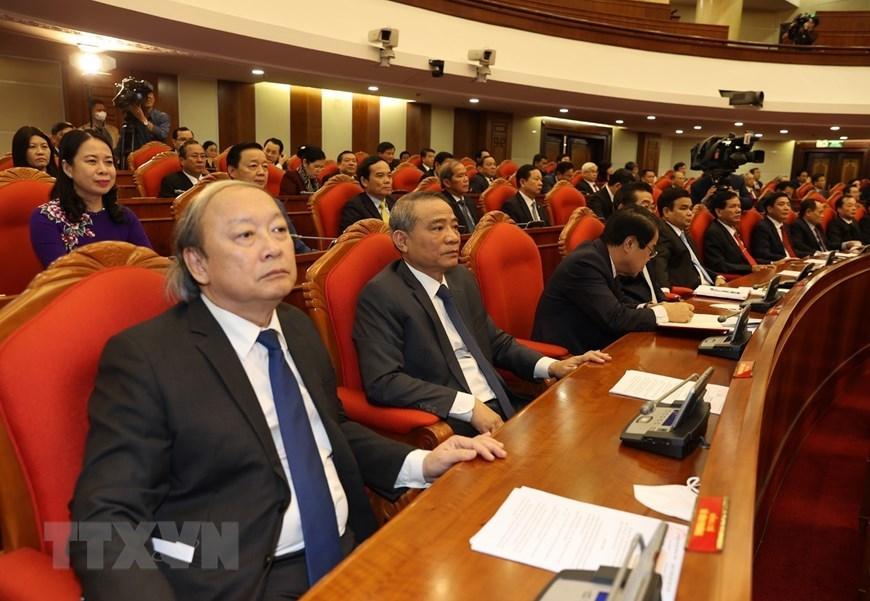 Các đại biểu dự bế mạc Hội nghị Trung ương lần thứ 15. Ảnh: TTXVN