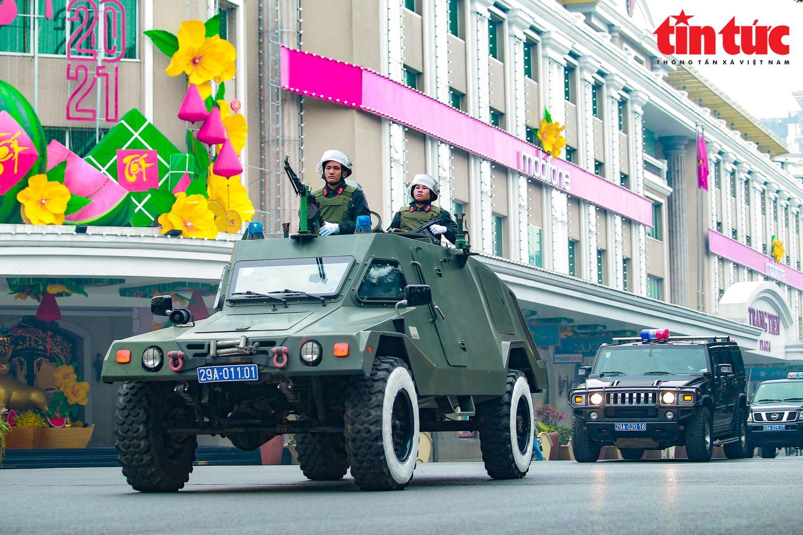 Hà Nội bổ sung 10 tuyến đường cấm phục vụ Đại hội XIII của Đảng.