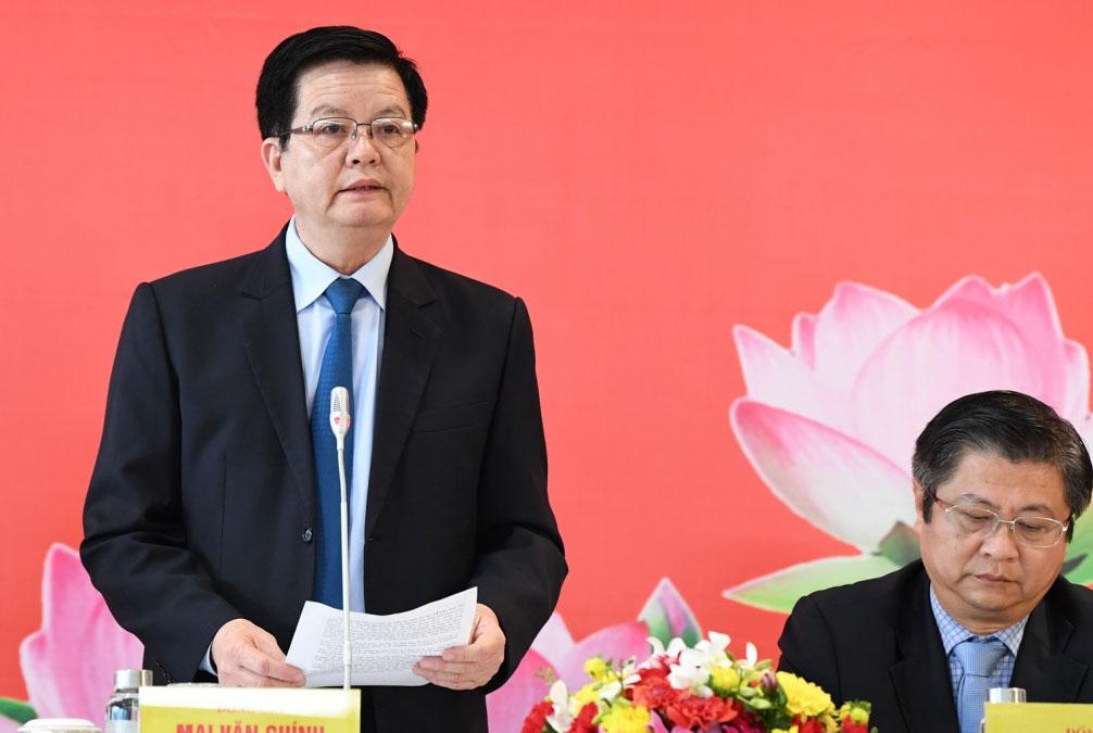 Ông Mai Văn Chính – Uỷ viên Trung ương Đảng, Phó Trưởng Ban Tổ chức Trung ương