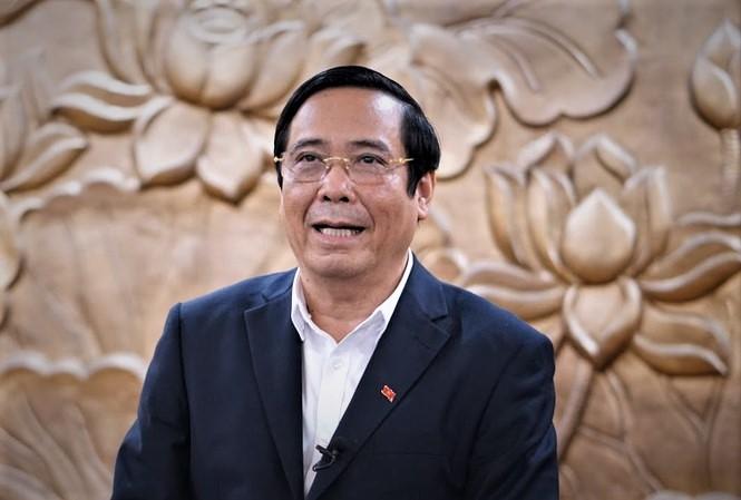 Đồng chí Nguyễn Thanh Bình, Ủy viên Trung ương Đảng, Phó Trưởng ban Thường trực Ban Tổ chức Trung ương