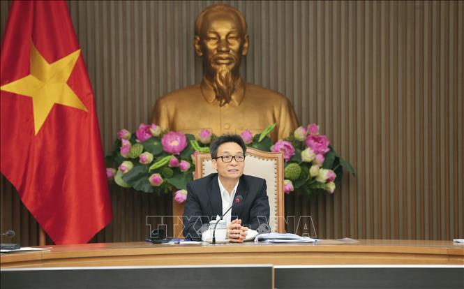 Phó Thủ tướng Vũ Đức Đam phát biểu. Ảnh: Doãn Tấn/TTXVN