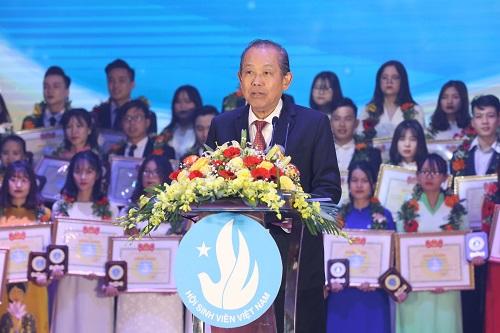 Phó Thủ tướng Thường trực Chính phủ Trương Hòa Bình phát biểu tại buổi lễ - Ảnh: VGP/Lê Sơn