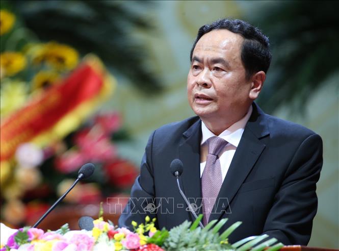Chủ tịch Ủy ban Trung ương MTTQ Việt Nam Trần Thanh Mẫn. Ảnh: TTXVN