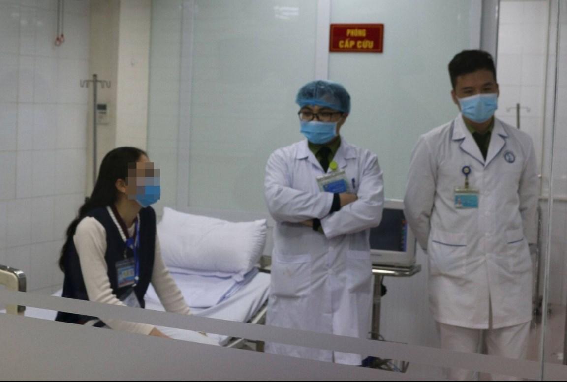 Một trong những người đầu tiên tiêm thử nghiệm vaccine COVID-19 Việt Nam liều cao nhất 75mcg. (Ảnh: Vũ Nga)