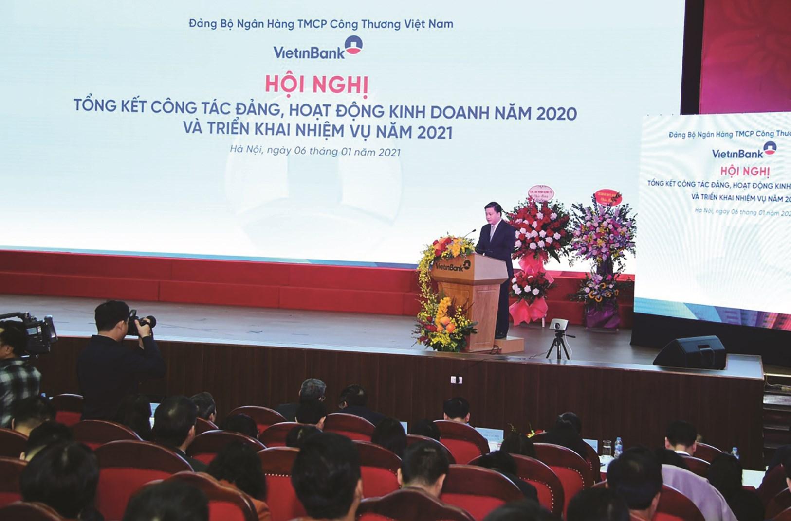 Ông Đào Minh Tú, Phó Thống đốc Thường trực NHNN Việt Nam phát biểu chỉ đạo tại Hội nghị.