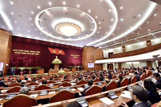Quang cảnh Hội nghị phiên khai mạc sáng 16/1. (Ảnh: Quốc Chính)