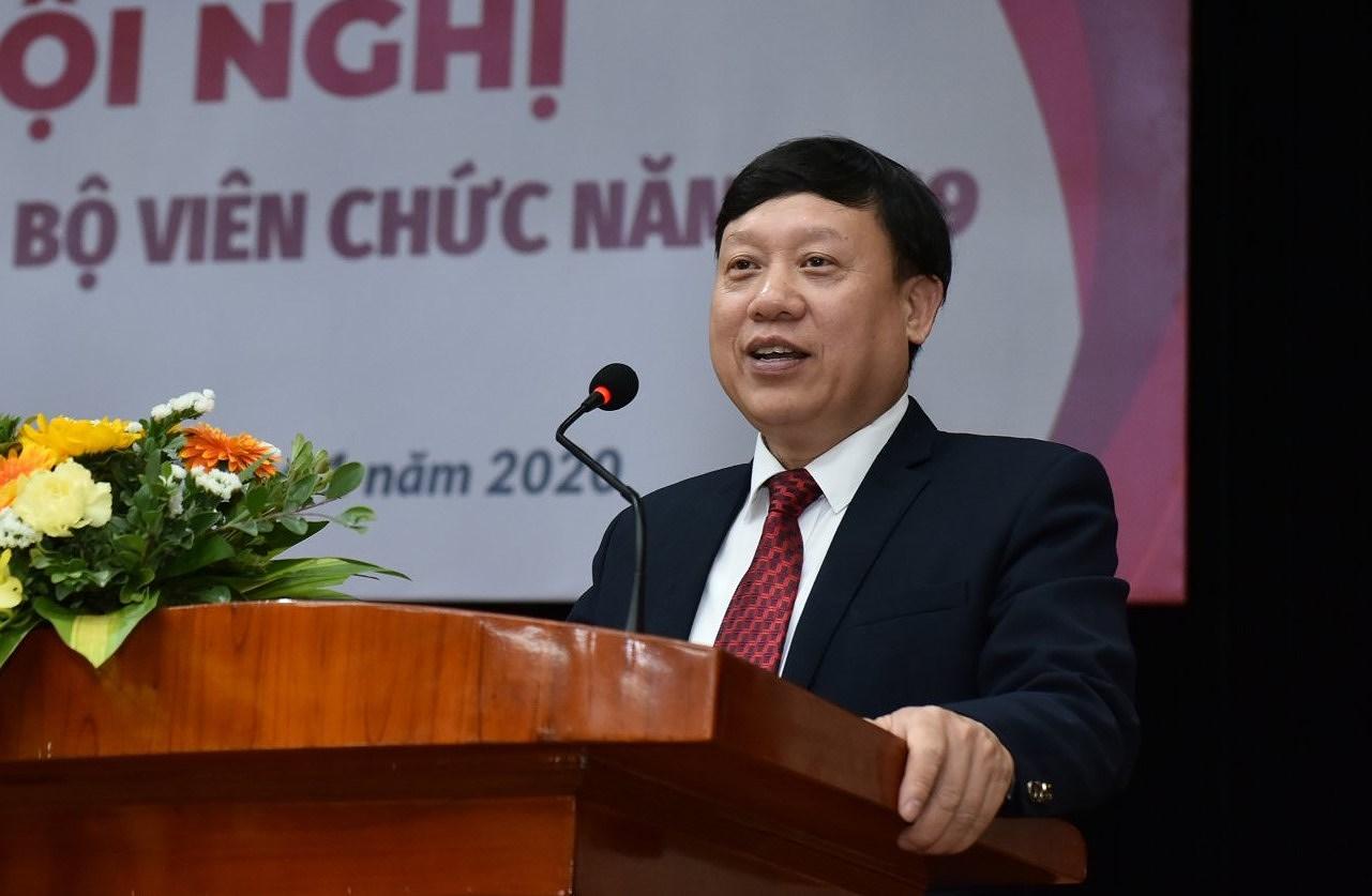Ông Bùi Đức Hùng, Bí thư Đảng ủy Đại học Bách khoa Hà Nội. (Ảnh: PV)