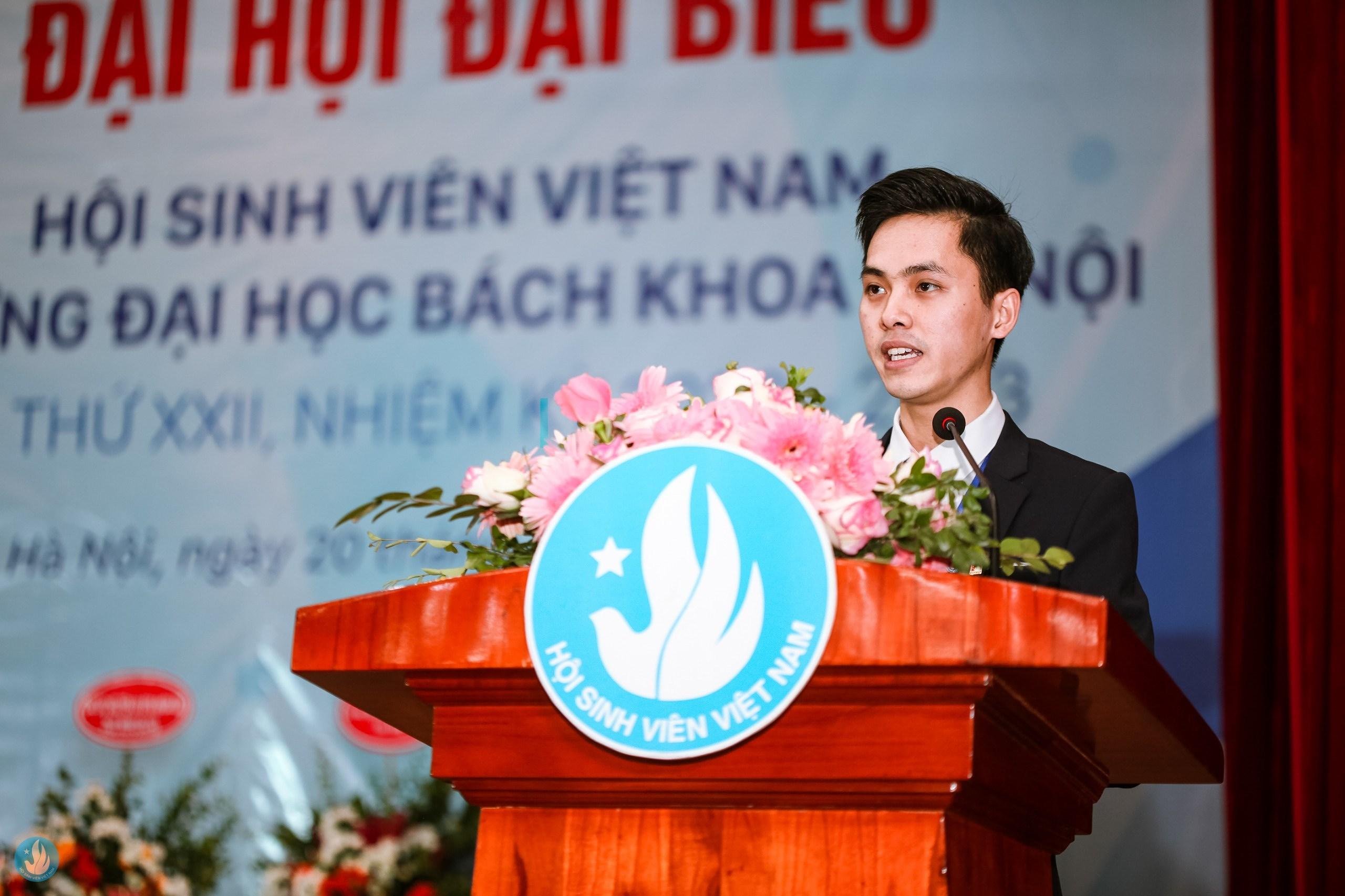 Thắng đã được rèn giũa qua các nhiệm vụ được giao để trở thành một đảng viên trẻ. (Ảnh: NVCC)