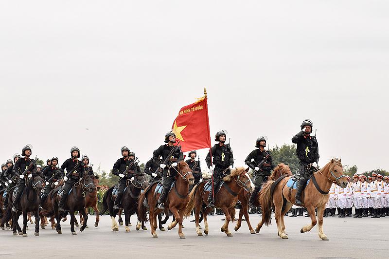 Dành toàn tâm, toàn lực bảo vệ tuyệt đối an ninh, an toàn Đại hội Đảng 1