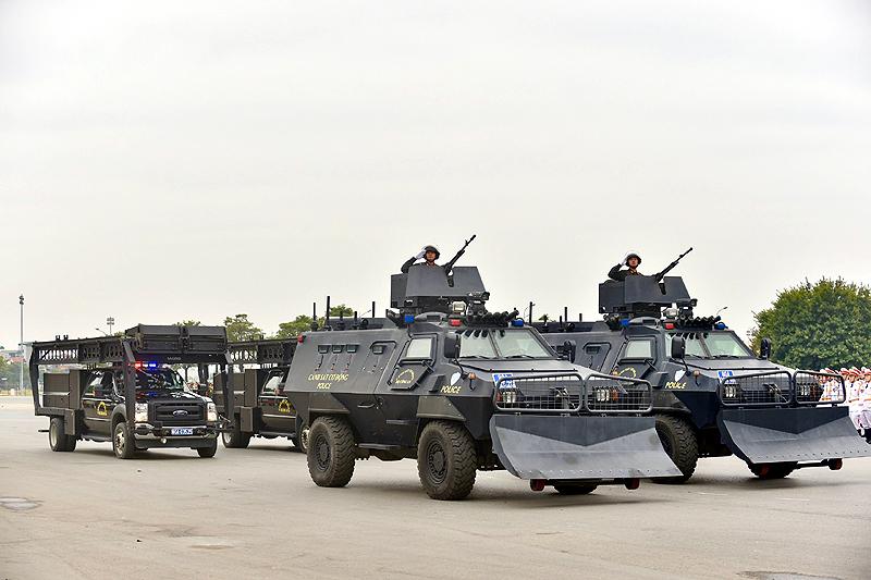 Dành toàn tâm, toàn lực bảo vệ tuyệt đối an ninh, an toàn Đại hội Đảng 2