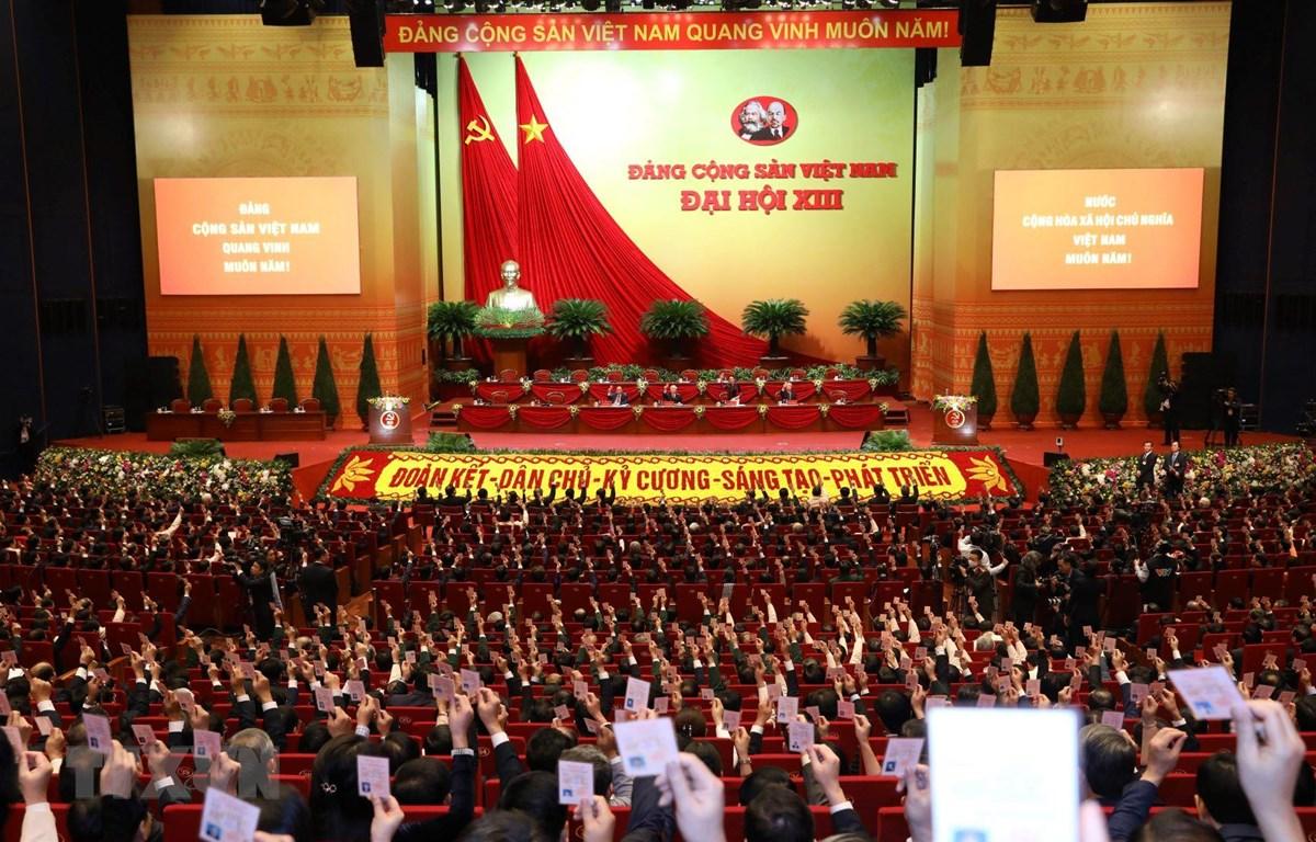 Phiên họp Phiên trù bị Đại hội đại biểu toàn quốc lần thứ XIII của Đảng, sáng 25/1/2021