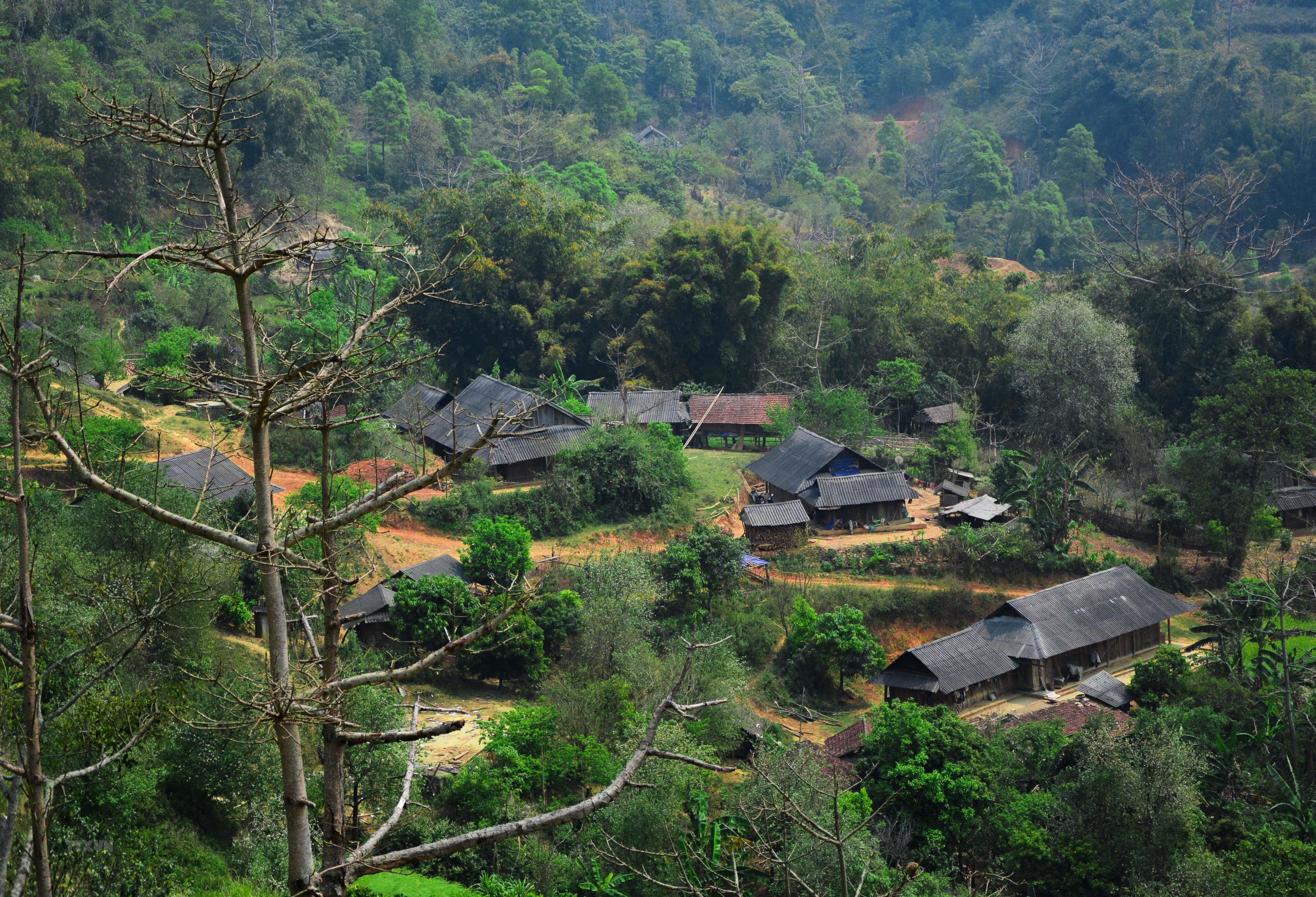 Bản làng vùng cao ở tỉnh Điện Biên
