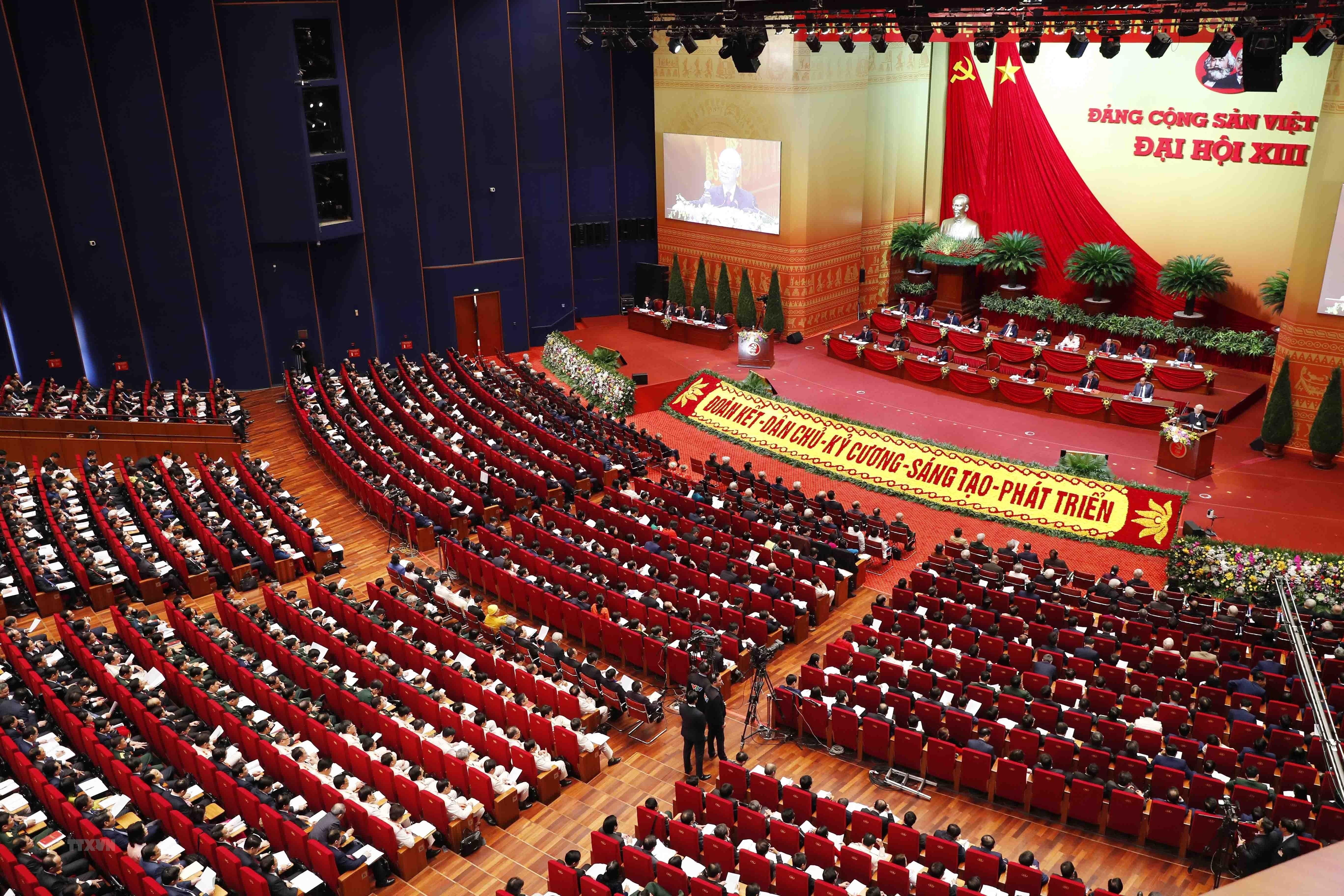 Toàn cảnh phiên khai mạc Đại hội. (Nguồn: TTXVN)