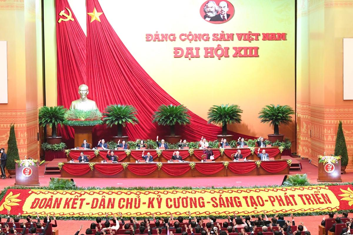Phiên trù bị đã biểu quyết thông qua chương trình làm việc Đại hội XIII của Đảng